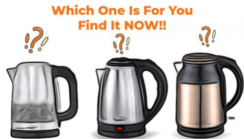 selct frmo the best electric vguard kettles online